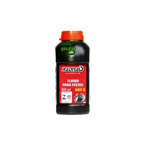 Fluido P/freios Dot 3 500ml - Sku: Rad7030