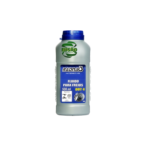 Fluido P/freios Dot 4 500ml - Sku: Rad7040